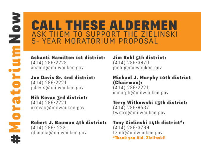 Call-your-Alderman-Moratorium-Now