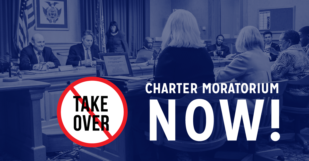 Image result for Charter School Moratorium