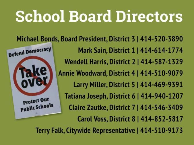 School Board Directors